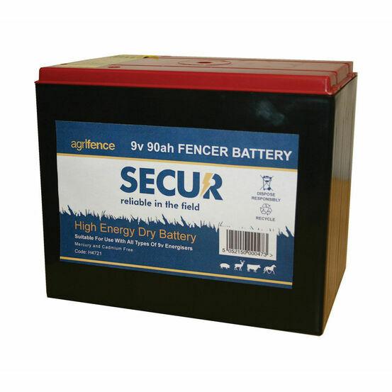 Agrifence 9v-90Ah Dry Battery (H4721)