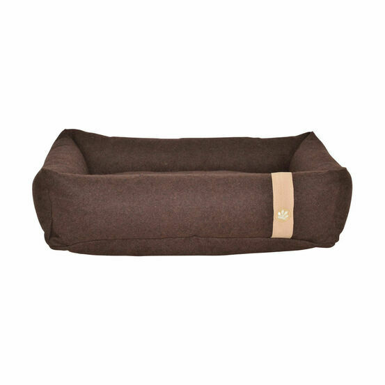 Companion Country Snuggle Dog Bed - Chocolate