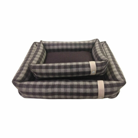 Companion Country Snuggle Dog Bed - Chocolate Check