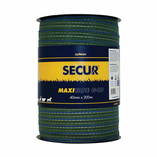 Agrifence Maxitape Performance Tape (H4767) - Green - 40mm x 200m
