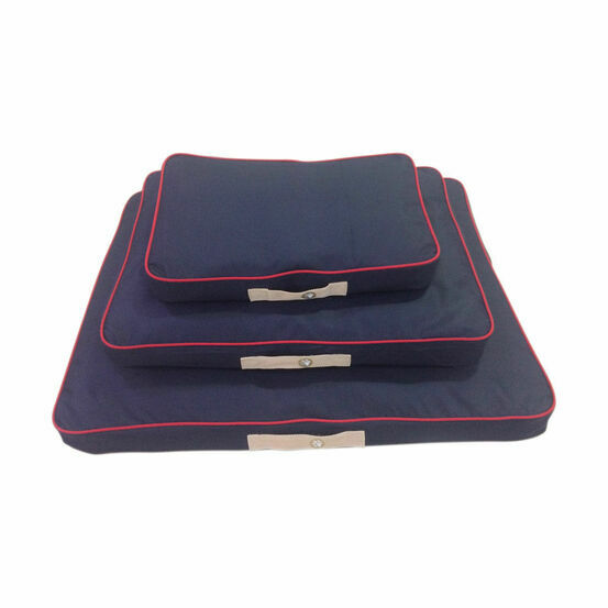 Companion Country Dog Pillow - Navy