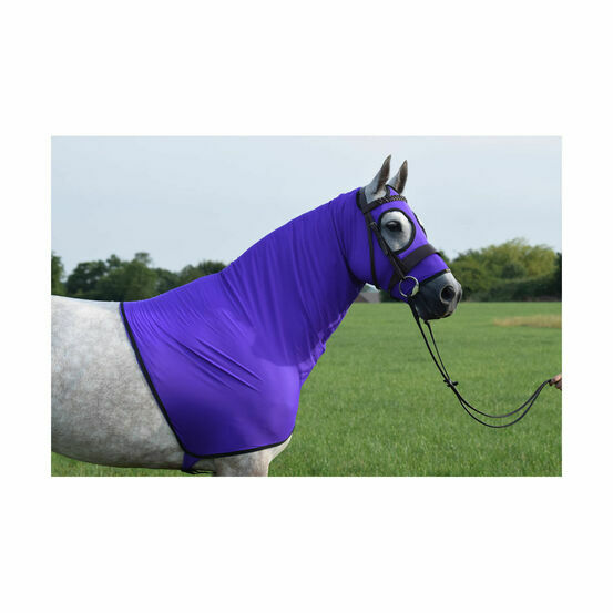Belvoir Rug Company Show Hood Life - Ultra Violet with Black Trim
