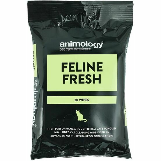 Animology Feline Fresh Cat Wipes - 20 Wipes