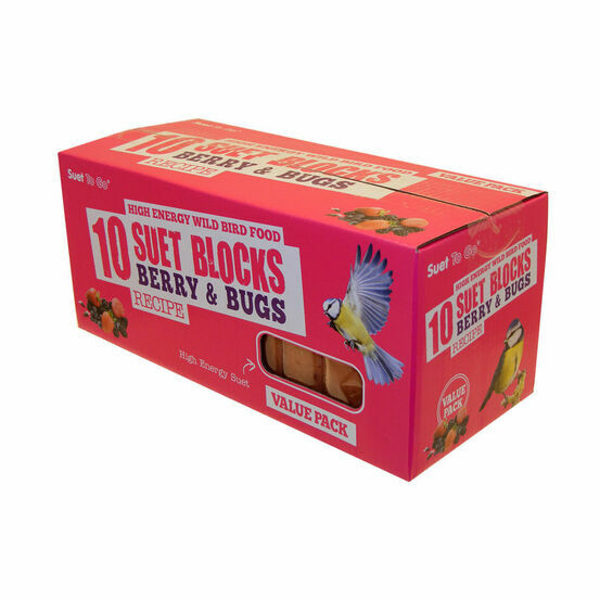 Suet To Go Suet Value Pack - Berry N Bugs - 10 Pack