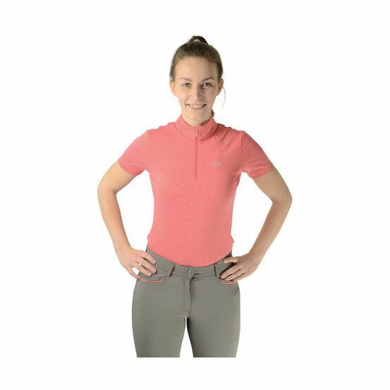 HyFASHION Performance Wear Sports Shirt - Paradise Pink/Silver