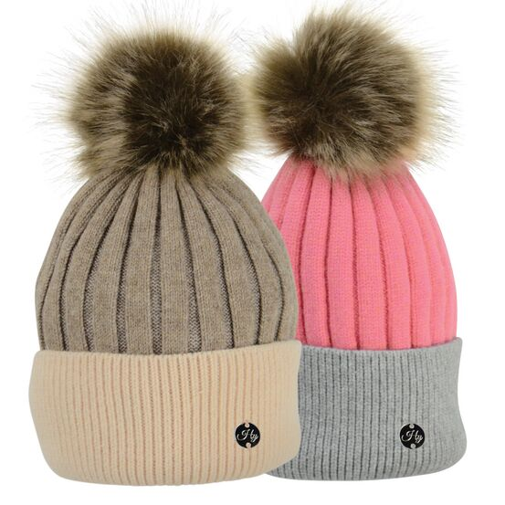 HyFASHION Luxembourg Luxury Bobble Hat - One Size