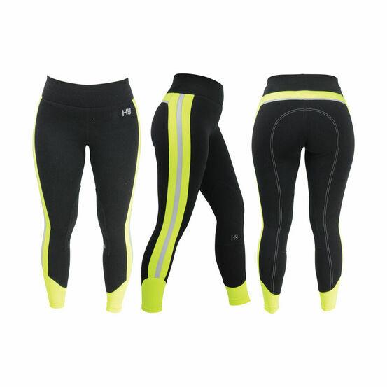 HyVIZ Reflector Ladies Breeches - Yellow/Black