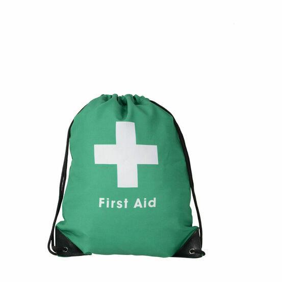 HyHEALTH First Aid Bag - Green/Black