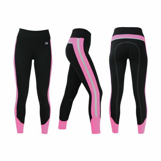 HyVIZ Reflector Ladies Breeches - Pink/Black