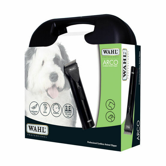 Wahl Arco Professional Cordless Dog Clipper Kit - Black
