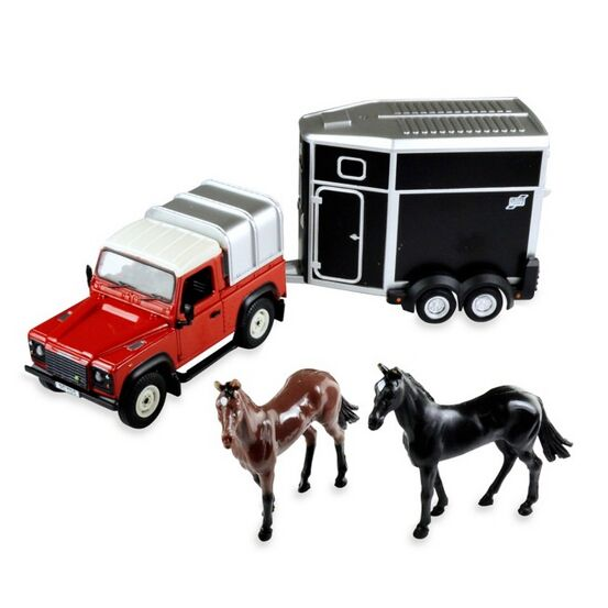 Britains Land Rover & Horse Replica Toy Set