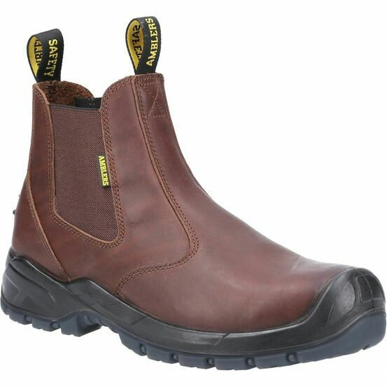 Amblers Safety AS307C Safety Dealer Boot in Brown