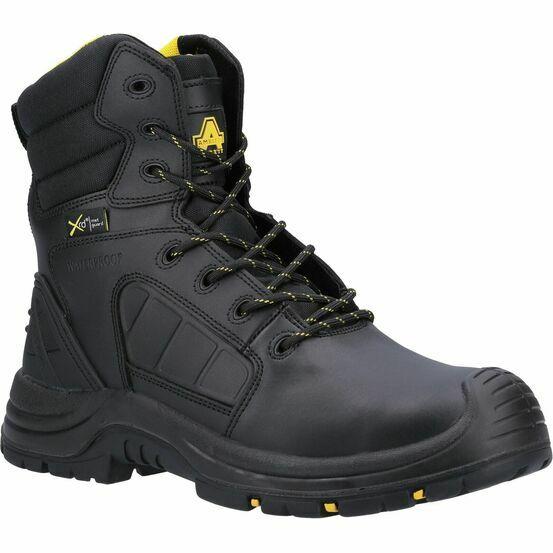 Amblers Safety AS350C Berwyn Hi-Leg Waterproof Safety Boot in Black