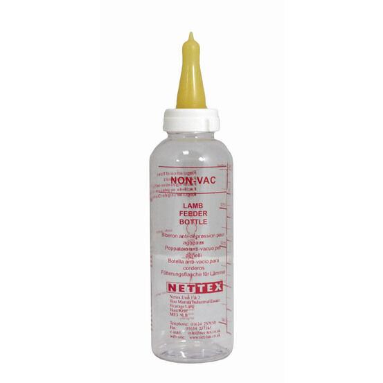 Nettex Lamb Non-Vac Plastic Feeding Bottle