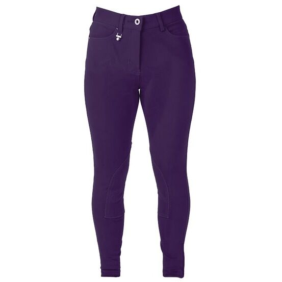 HyPerformance Bright Denim Ladies Breeches Purple