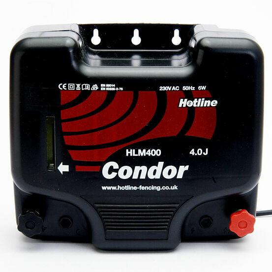 Hotline Condor HLM400 Input Mains Energiser