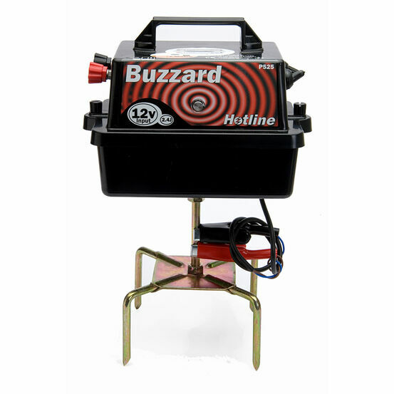 Hotline HLB525 Buzzard Battery Fencing Energiser