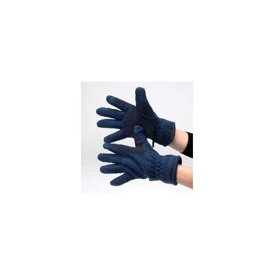 Hy5 Fleece Riding Gloves - BLACK