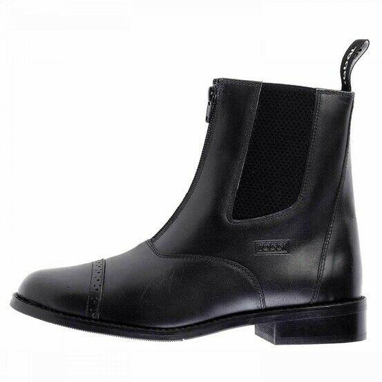 Toggi AUGUSTA Black Leather Jodhpur Boots