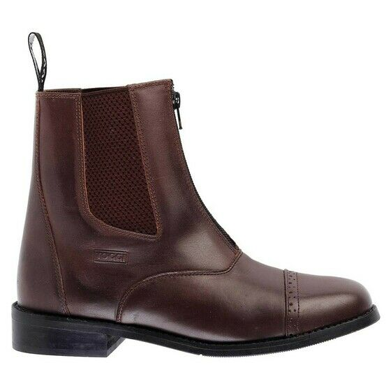 Toggi AUGUSTA Brown Leather Jodhpur Boots