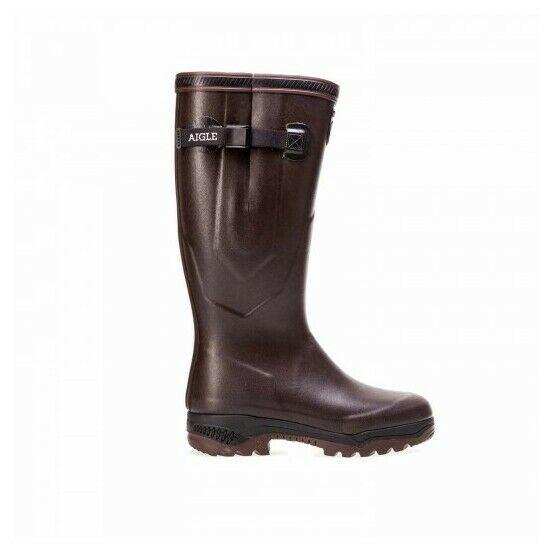Aigle Parcours 2 Vario Wellington Boots - Brown