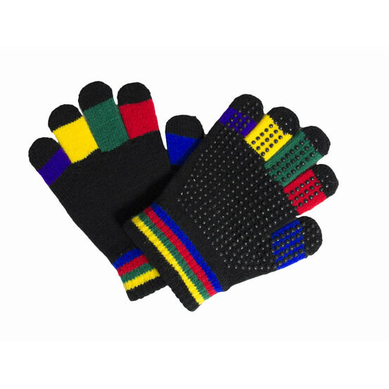 Hy5 Multi-Coloured Magic Riding Gloves - Childs