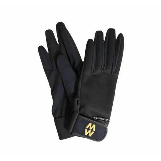 Macwet Climatec Long Cuff Riding Gloves - Black