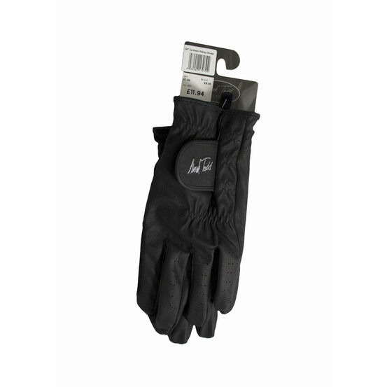 Mark Todd Synthetic Riding Gloves Adult - Black