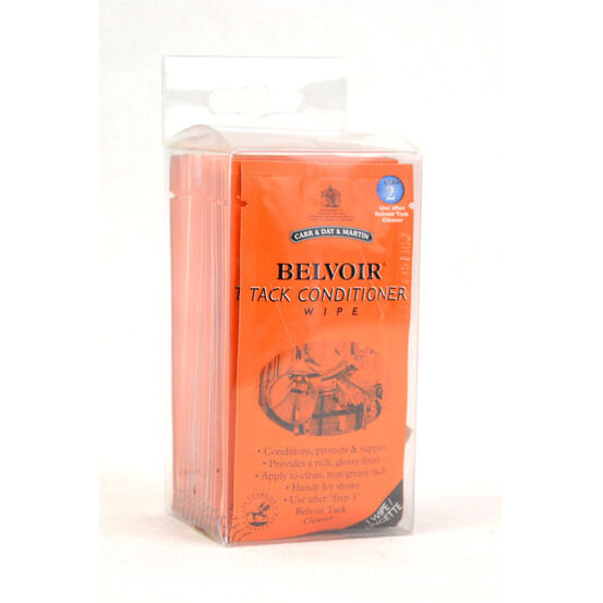 Carr & Day & Martin Canter Belvoir Tack Conditioner Wipes - Pack of 15