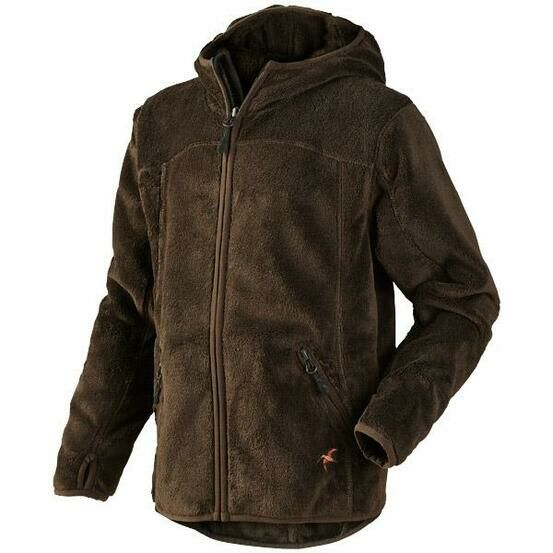 Seeland Bronson Kids Fleece Jacket - Brown