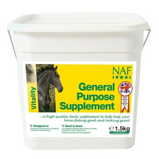 NAF General Purpose Supplement For Horses