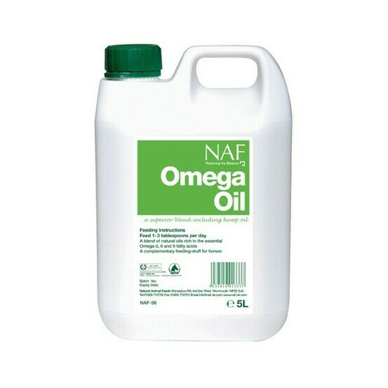 NAF Omega Oil For Horses
