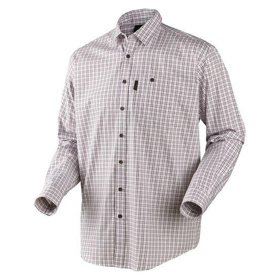 Seeland Preston Merlot Checked Shirt