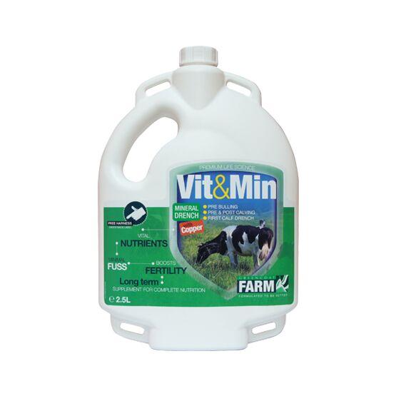 Greencoat Vit & Min Cow+ Copper - 2.5ltr