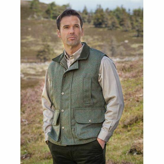 Hoggs Of Fife Edinburgh Tweed Waistcoat