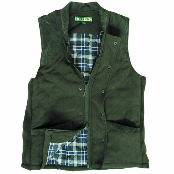 Hoggs Of Fife Skyree Quilted Shooting Waistcoat