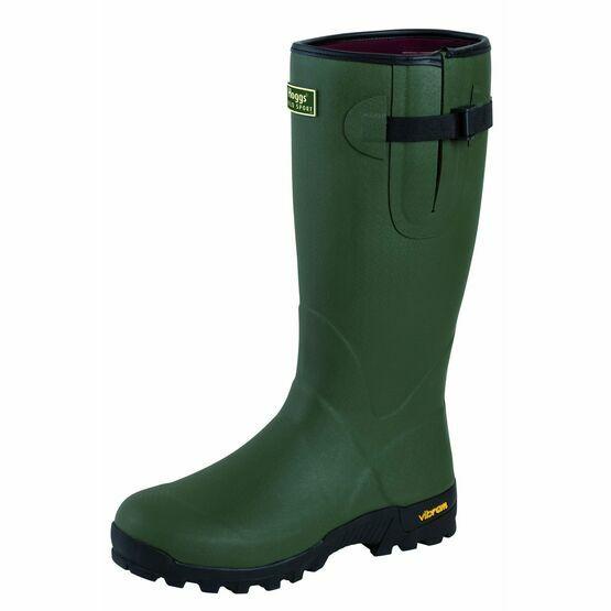 Hoggs Of Fife Field Sport Neo-Lined Rubber Wellington Boots