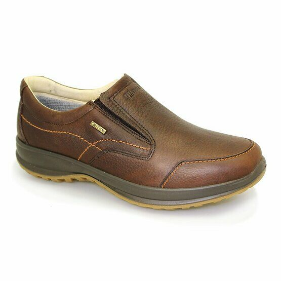 Grisport Melrose Active Slip-On Shoes - Brown