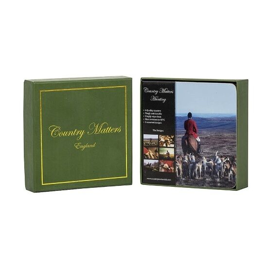 Country Matters Coasters - Hunting