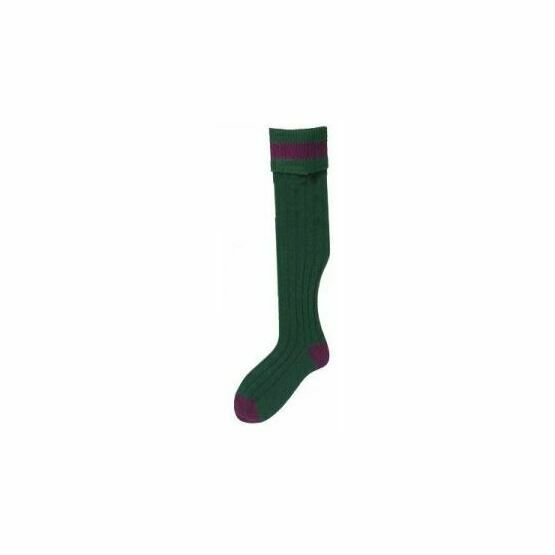 No.11 Stockings Bottle/Vine Socks by Bisley