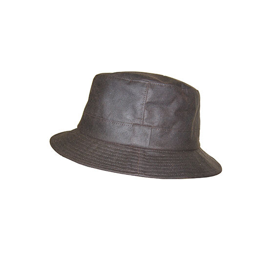 Hoggs Of Fife Waxed Bush Hats - Brown