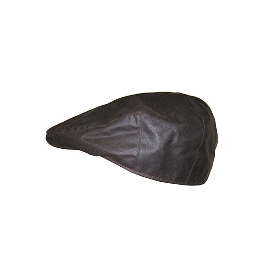 Hoggs Of Fife Waxed Cap - Brown