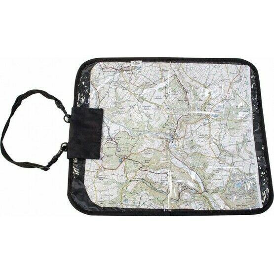 Highlander Deluxe Map Case - Black