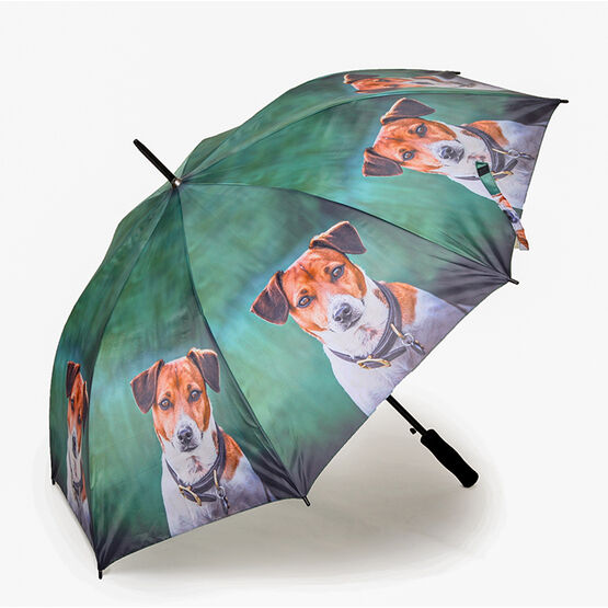 Country Matters Amber Jack Russell Umbrella