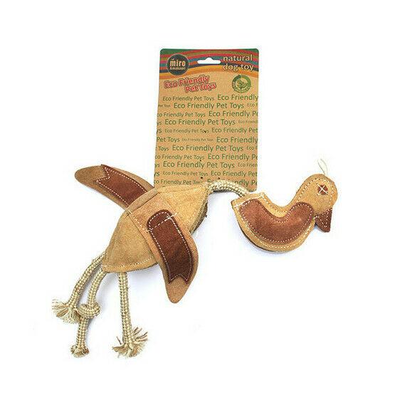 MIRO & MAKAURI Dead Duck Prey Toy. Natural Eco-Friendly Dog Toys 44cm