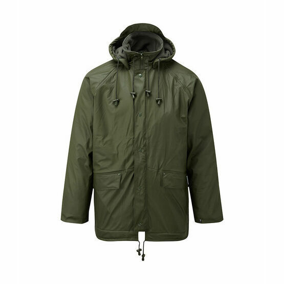 Castle Clothing Fleece Lined Jacket - Green