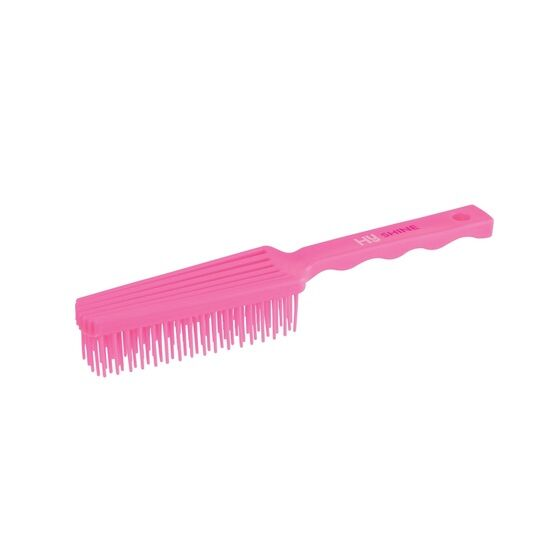 HySHINE Perfect Tails Grooming Brush - Pink