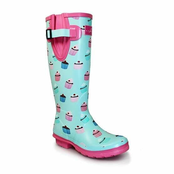 Lunar Cupcake Wellington Boots