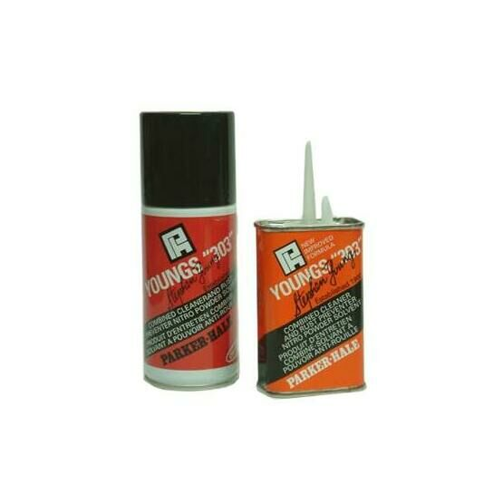 Youngs 303 by Parker-Hale - 125ml Tin with pouring spout or 150ml Aerosol spray