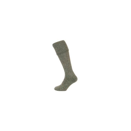 Hoggs of Fife Country Ribbed Knit Stocking
